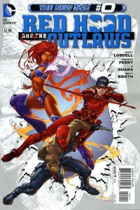 Red Hood and the Outlaws (2011 series) #0, NM + (Stock photo)