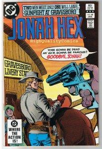 JONAH HEX #68, VF/NM, Gunfight Gravesboro, Dick Ayers, 1977, more JH in store