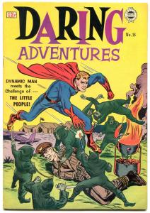 Darling Adventures #16 1964- Dynamic Man- Golden Age reprints VF