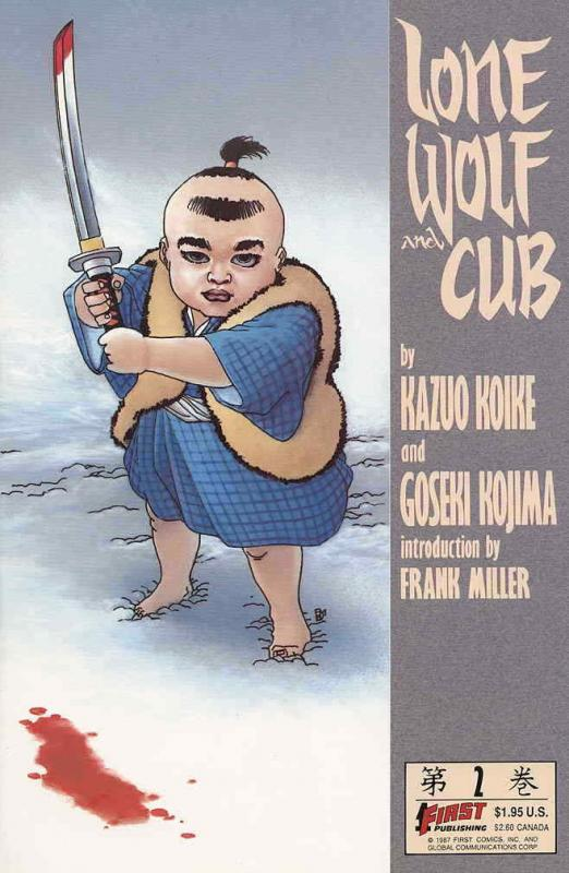 Lone Wolf and Cub #2 VF/NM; First | save on shipping - details inside