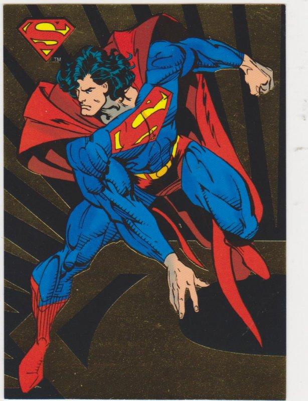 1993 Return of Superman #SP1 Superman-The Man of Steel Card