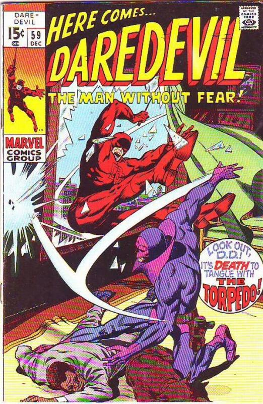 Daredevil #59 (Dec-69) VF- High-Grade Daredevil