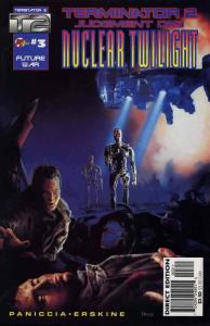 T2: Nuclear Twilight #3 VF/NM; Malibu   save on shipping - details inside