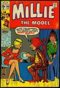 MILLIE THE MODEL #188 1971 MARVEL GOOD GIRL ART  POSES VG