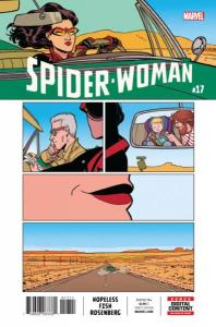 Spider-Woman (2016 series) #16, NM + (Stock photo)