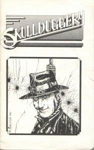 SKULLDUGGERY -1981-PULP MYSTERY & HORROR FANZINE-SUBSCRIPTION PROMO FLYER