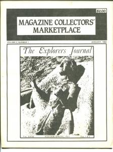 Magazine Collectors' Marketplace Vol. 2 #1 1984-buy and sell ads-info-FN