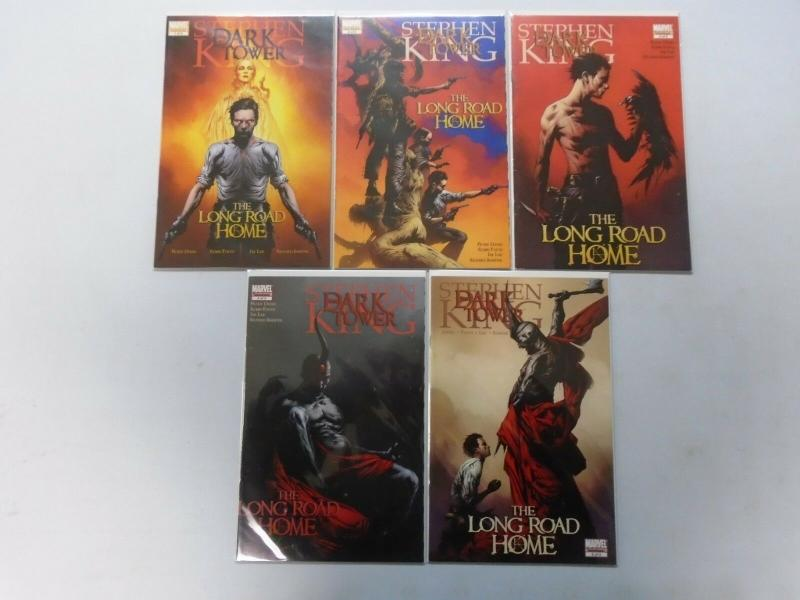 Dark Tower: The Long Road Home Set:#1-5, 8.0/VF (2008)