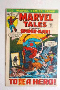 Marvel Tales #37 September 1972