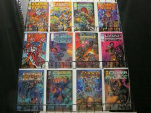CYBERFORCE 1-4,0-35 Ann1-2  Image's Mutant Team!