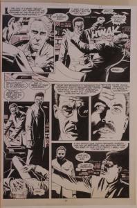 PAUL GULACY original art, MARVEL COMICS PRESENTS #31 pg 21, 11x16, Coldblood