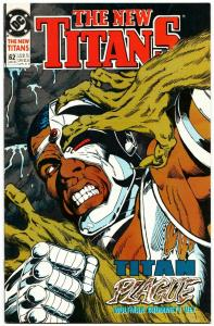 New Titans #62 (DC, 1990) VF/NM