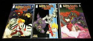 Lions,Tigers & Bears #1,2,3 Set Signed by Mike Bullock (Image, 2005) VF