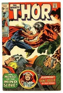 Thor 172 Jan 1970 VF (8.0)