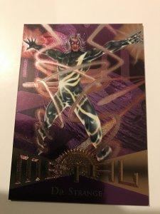 DR. STRANGE #58 card : Marvel Metal 1995 Fleer Chromium; NM/M Avengers, base