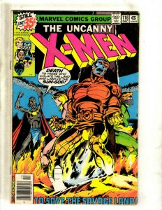 (Uncanny) X-Men # 116 FN Marvel Comic Book Wolverine Storm Colossus Cyclops BJ1