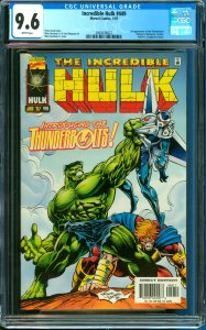 Incredible Hulk #449 CGC Graded 9.6 1st Appearance of the Thunderbolts