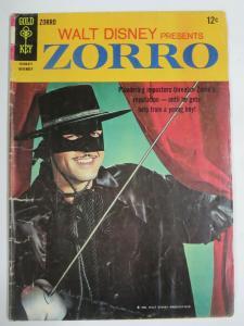 ZORRO #4 (Gold Key,11/1966) (GOOD;G) Photo Cover! Walt Disney!