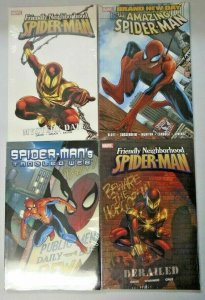 Spider-Man TPB lot 4 different books new in cellophane (years vary)