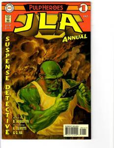 3 JLA DC Comic Books Annual # 1 2 3 Batman Superman Green Lantern Flash BH13