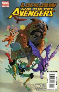 Lockjaw and the Pet Avengers #1 VF/NM; Marvel | save on shipping - details insid