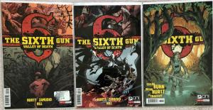 SIXTH GUN - THREE (3) ISSUE LOT - VOL 1 #32 & VALLEY OF DEATH #2 & #3