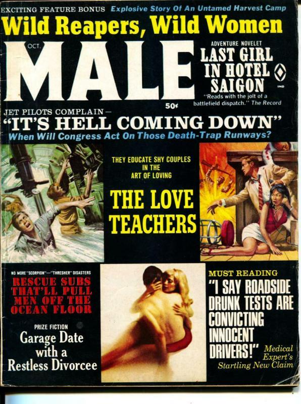 Male-10/1968-Pussycat-Subs-Brainstorms-Sex-Adventure