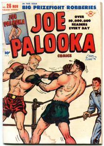 Joe Palooka #26 1948- Notre Dame v Ohio state- Golden Age VG