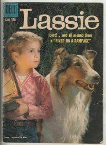 Lassie #44 (Mar-59) VG Affordable-Grade Lassie, Ranger Bob Ericson and Ranger...