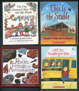 Schoolastic Readers / Classic Stories /  Lot of 4 Books