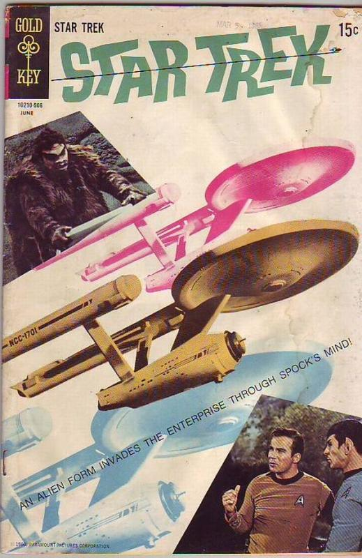 Star Trek #4 (Jun-69) GD Affordable-Grade Captain Kirk, Mr Spock, Bones, Scotty