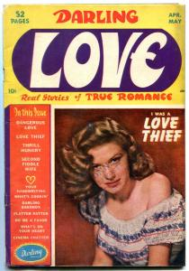 Darling Love #4 1950- Golden Age Romance- Love Thief VG