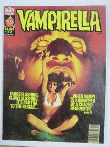 VAMPIRELLA 72 VG Sept. 1978