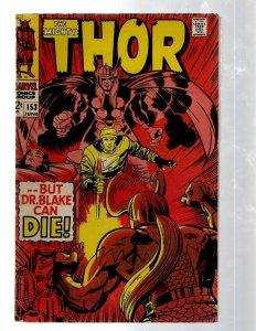 Mighty Thor # 153 FN Marvel Comic Book Loki Odin Asgard Sif Avengers Hulk RB8