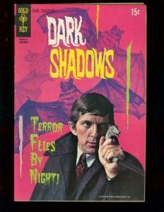 DARK SHADOWS #7 1970 HORROR GOLD KEY TV PHOTO COVER FN+