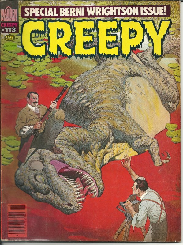 Creepy #113 (1979) All Bernie Wrightson issue