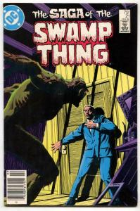SAGA OF THE SWAMP THING #21  Alan Moore- Newsstand - VF-