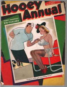 Hooey Annual #9 1939-risque cover art-spicy cartoons-CC Beck-Boltinoff-VG