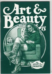Art & Beauty Magazine #1 (Jan-96) NM- High-Grade Ailene Kominsky aka Mrs.R.Crumb