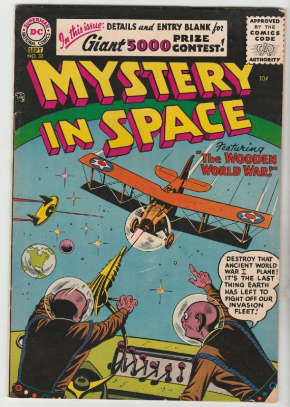 Mystery in Space #33 (Sep-56) FN+ Mid-Grade