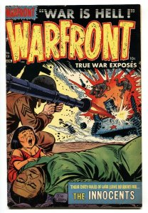 Warfront #13 1953-Dark crying child over dead body cover-FN