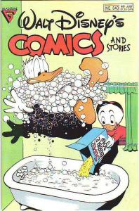 Comics and Stories, Walt Disney's #540 (Jul-89) VF/NM High-Grade Donald Duck,...