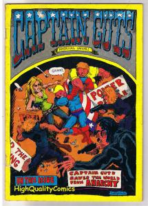 CAPTAIN GUTS #1, VG, Underground, Anarchy, 2nd, 1969, more in store