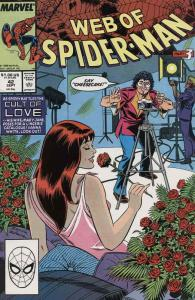 Web of Spider-Man, The #42 VF/NM; Marvel | save on shipping - details inside