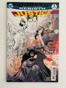 Justice League #1 Rebirth Partial Sketch Variant (DC Comics) NM