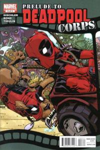 Prelude to Deadpool Corps #3, NM- (Stock photo)