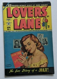 Lovers' Lane #4 (Apr 1950, Lev Gleason) VG+ 4.5 Bob Lubbers and Bob Fujitani art