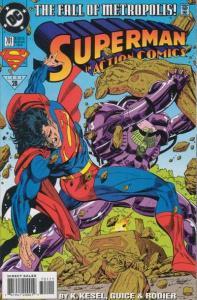 Action Comics (1938 series) #701, VF+ (Stock photo)