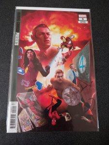 Marvel Comics Presents 9 Rahzzah Variant (2019, Marvel)