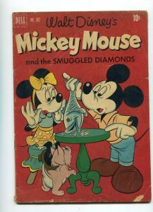 Dell Four Color 362 GD/VG- Mickey Mouse and the Smuggled Diamonds